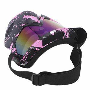 Yctze Lunettes de Moto Hommes Femmes Lunettes de motoneige Ski Snowboard Hiver Neige Coupe-Vent Masque extérieur Lunettes de Soleil (Rose)
